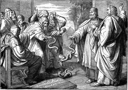 http://upload.wikimedia.org/wikipedia/commons/f/fd/Foster_Bible_Pictures_0060-2_Aaron's_Rod_Changed_into_a_Serpent.jpg