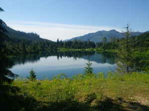 Gold Creek Pond, Snoqualmie Pass Washington