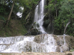 Saut d'eau waterfall in Haiti