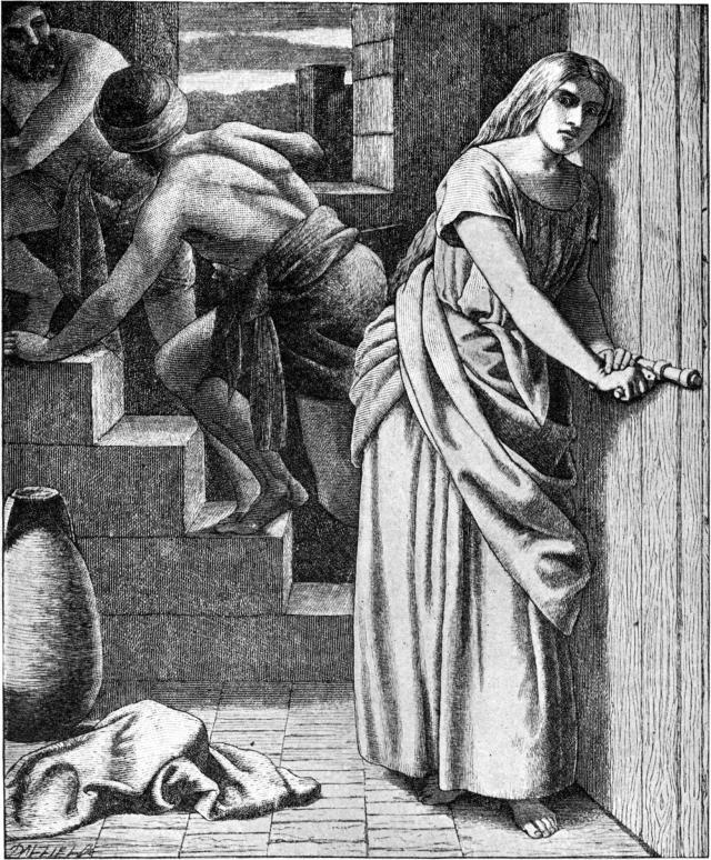 http://commons.wikimedia.org/wiki/File%3AFoster_Bible_Pictures_0084-1_Rahab_Helping_the_Two_Israelite_Spies.jpg