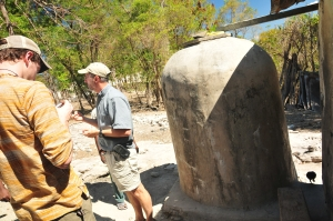 Cistern in rural Haiti