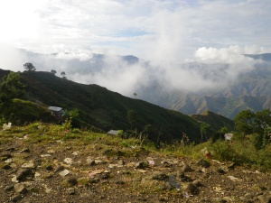 Clouds over Haiti