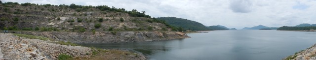 Akosombo Dam and Lake Volta in Ghana
