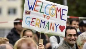 Germany-Headline-News-Refugees-Happy-Moment