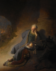 Rembrandt version of Jeremiah