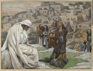 Jesus Wept (Jésus pleura) by James Tissot