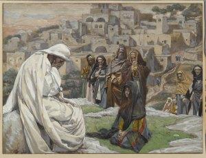 Jesus Wept (Jésus pleura) by James Tissot